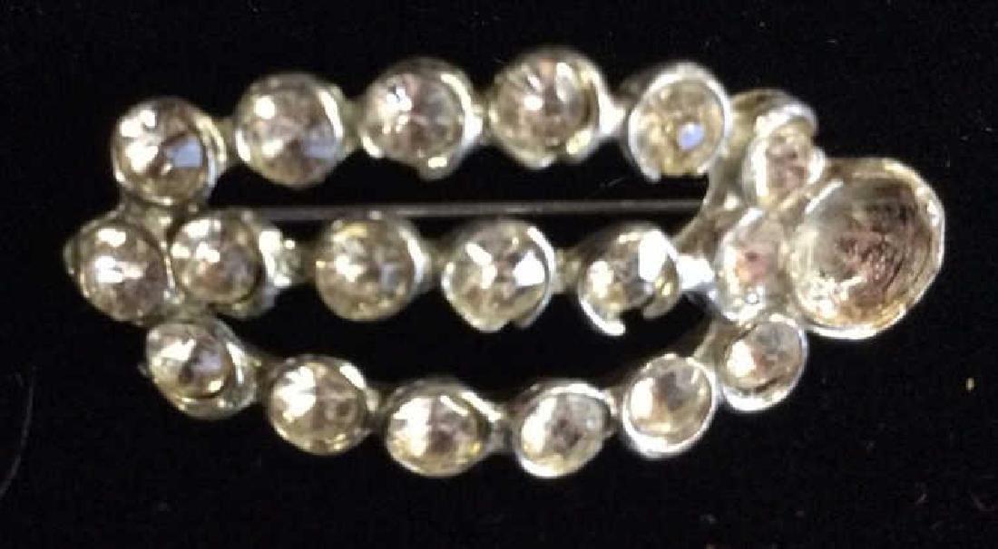 Vintage Rhinestone Estate Jewelry Group - 5