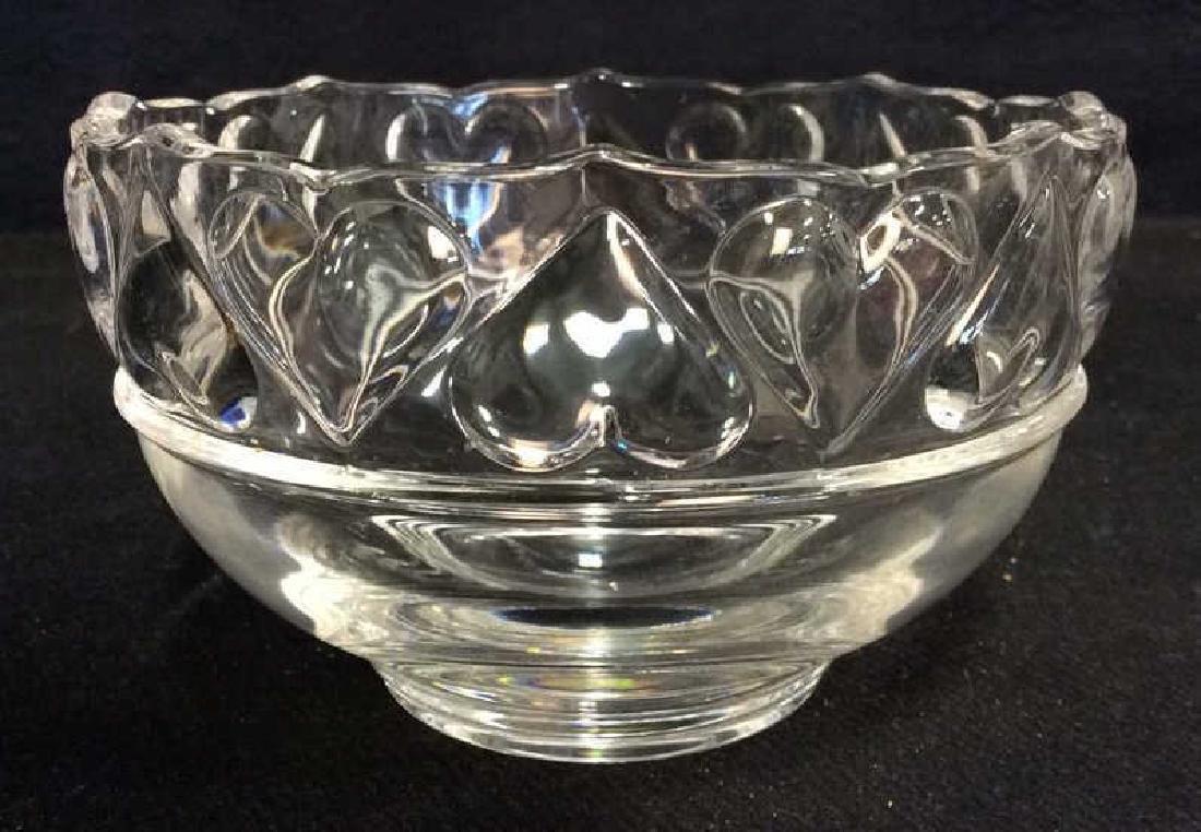 TIFFANY & CO Crystal Hearts By Tiffany Bowl - 2