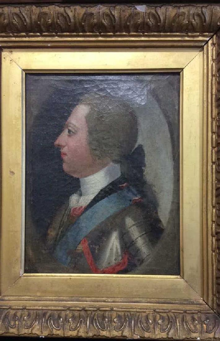 Antique Oil Painting General in Uniform - 7