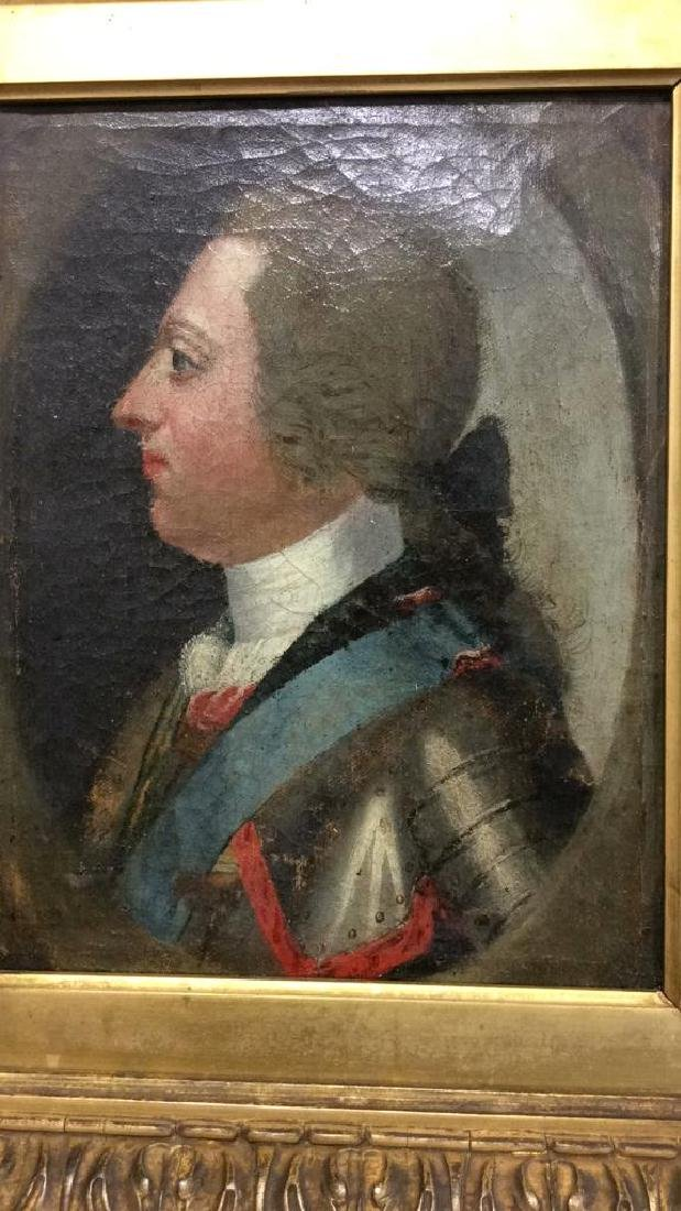 Antique Oil Painting General in Uniform - 8