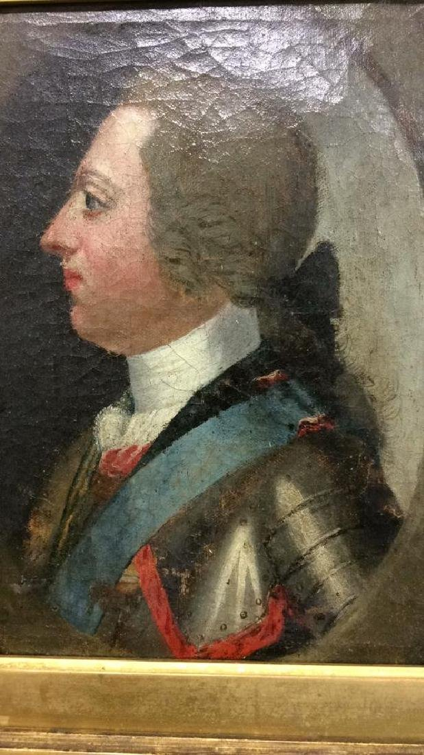 Antique Oil Painting General in Uniform - 9