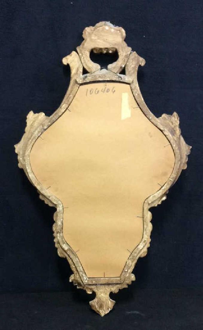 Antique Ornately Carved Gold Leafed Mirror - 9