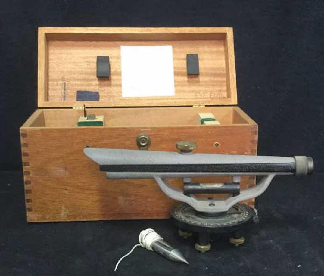 Poss Vintage BERGER Surveying Tool w Box