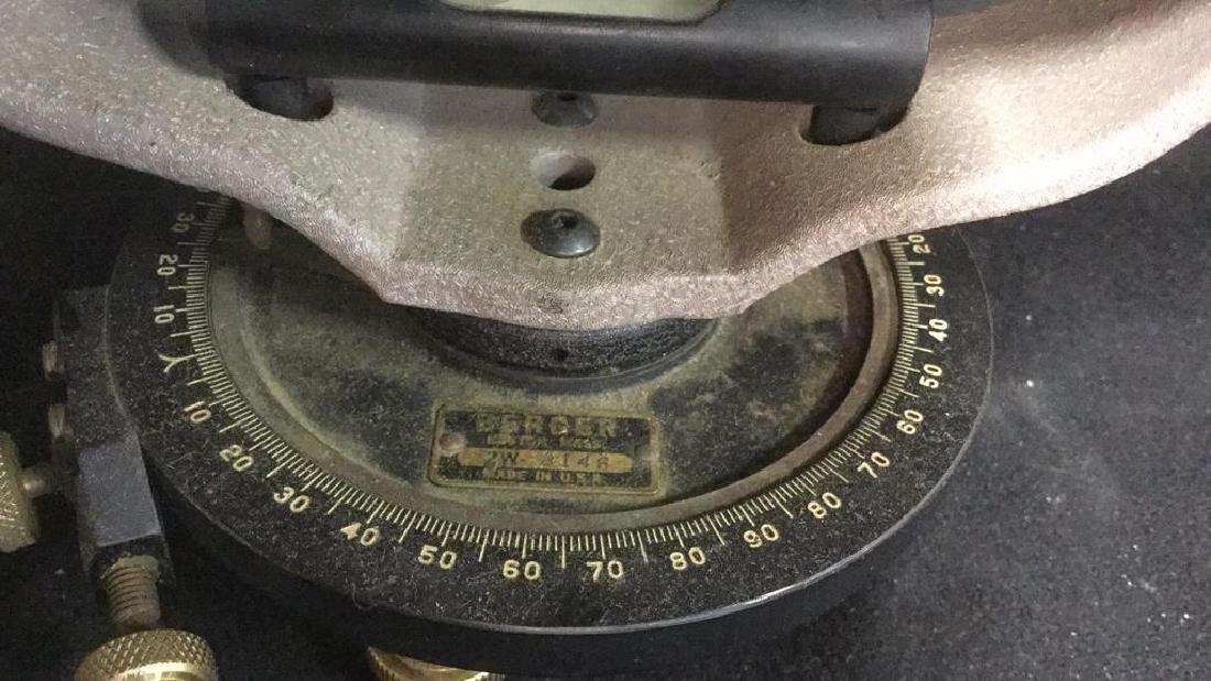Poss Vintage BERGER Surveying Tool w Box - 6
