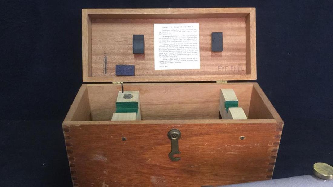Poss Vintage BERGER Surveying Tool w Box - 7