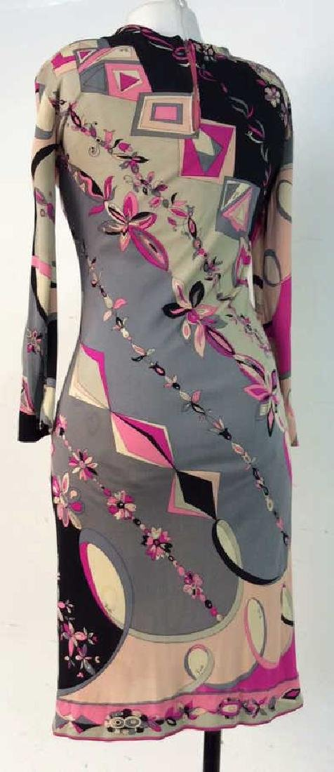 EMILIO PUCCI Vintage Silk Dress - 4