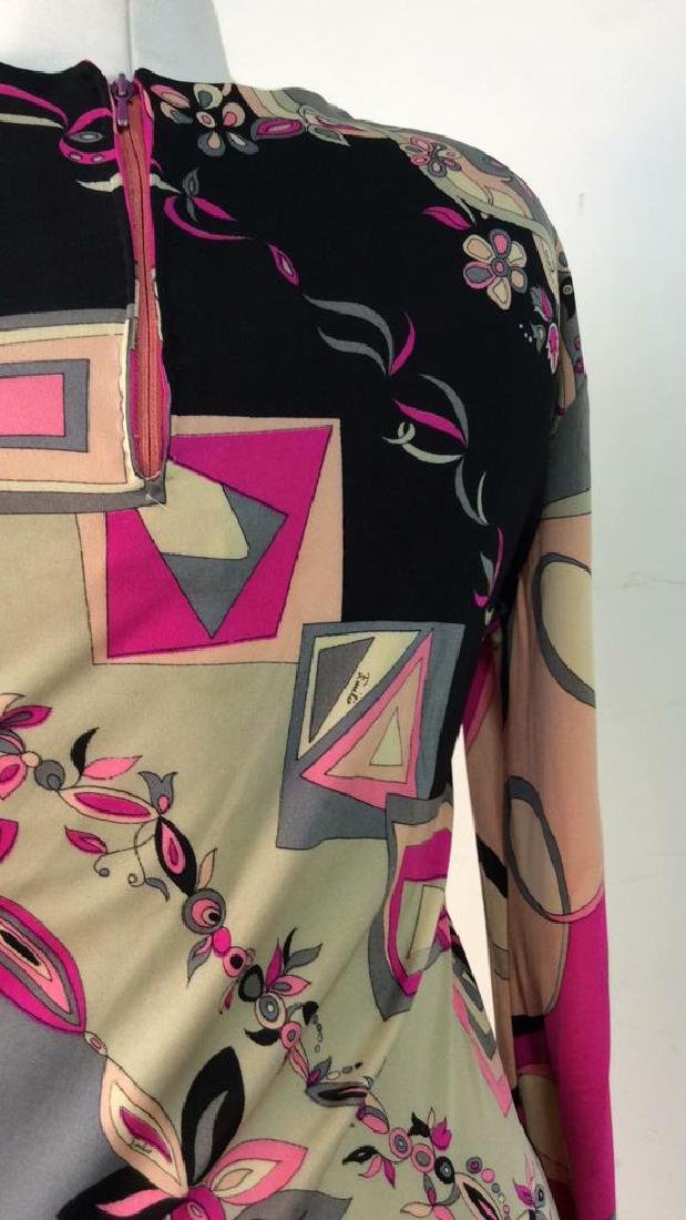 EMILIO PUCCI Vintage Silk Dress - 5