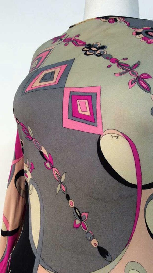 EMILIO PUCCI Vintage Silk Dress - 6
