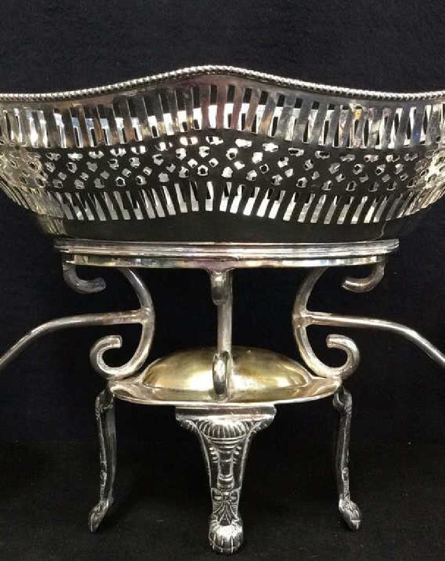 Vintage Silver Plate Epergne Centerpiece - 2