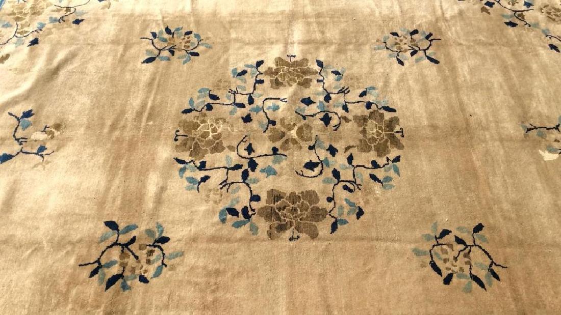 Antique Peking Handmade Wool Carpet - 2