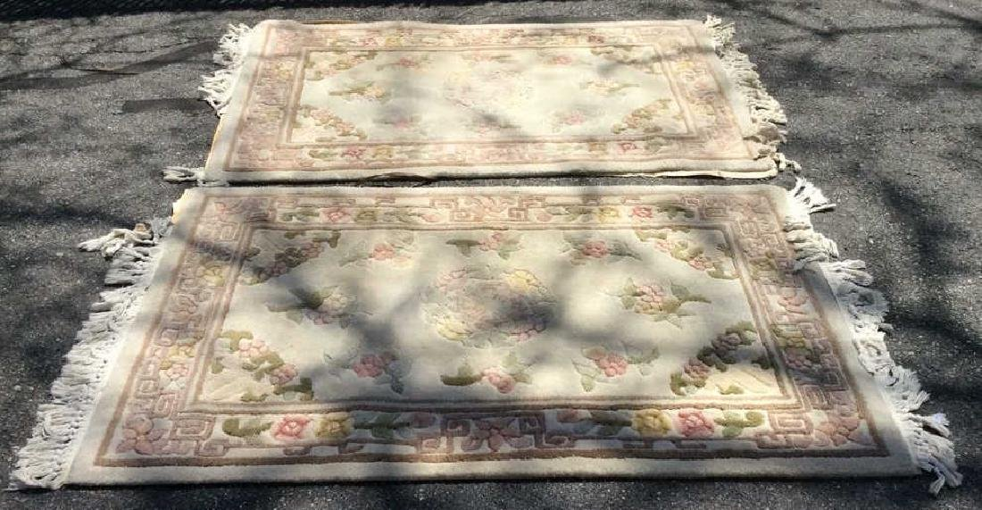 Pair INTERNATIONAL CLASSICS Chang Collection Rugs - 2