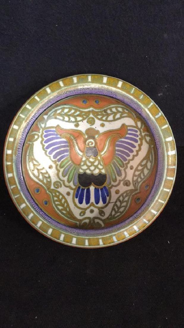 Vintage Gouda Pottery Bowl Egyptian