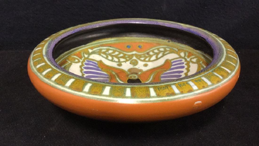 Vintage Gouda Pottery Bowl Egyptian - 3