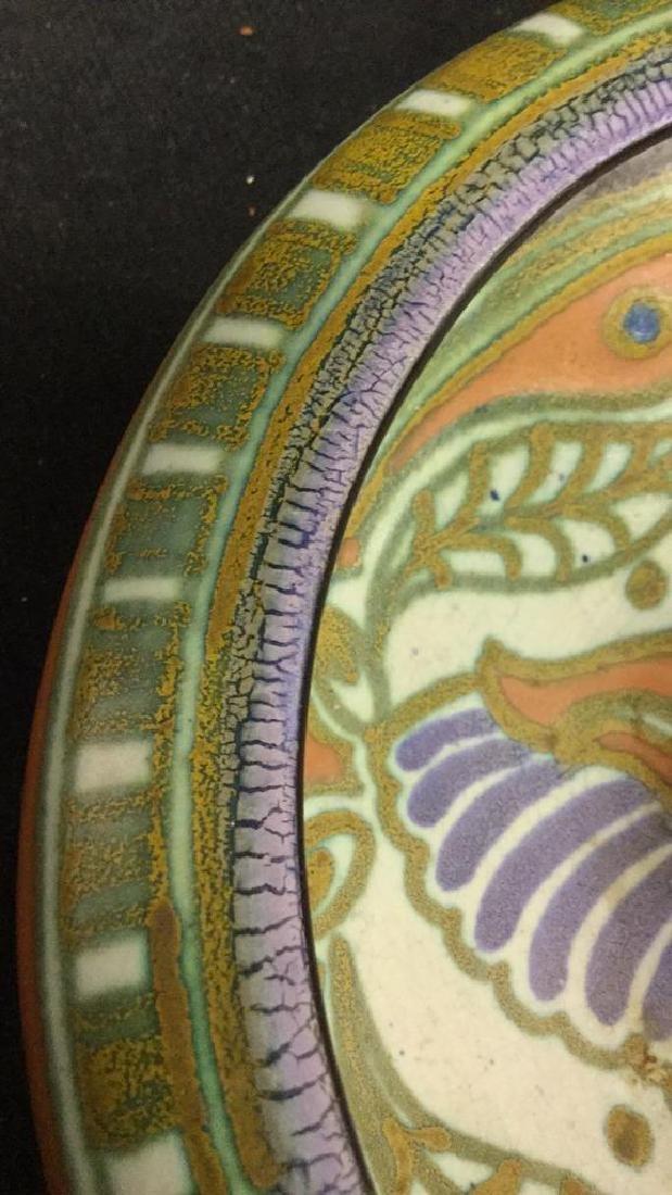 Vintage Gouda Pottery Bowl Egyptian - 4