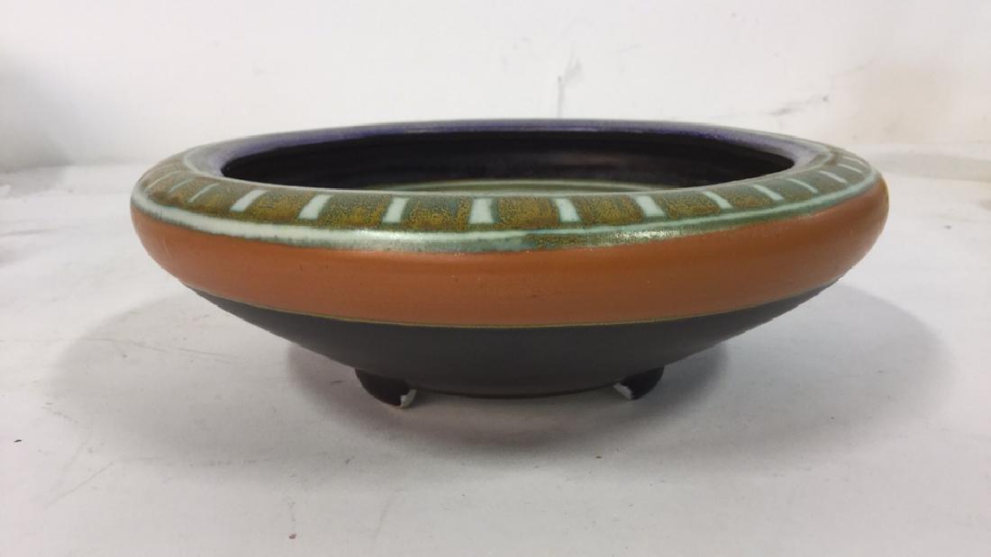 Vintage Gouda Pottery Bowl Egyptian - 6