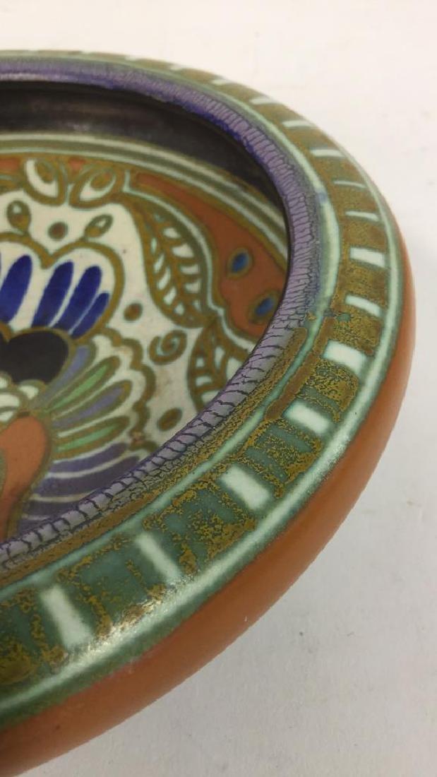 Vintage Gouda Pottery Bowl Egyptian - 7