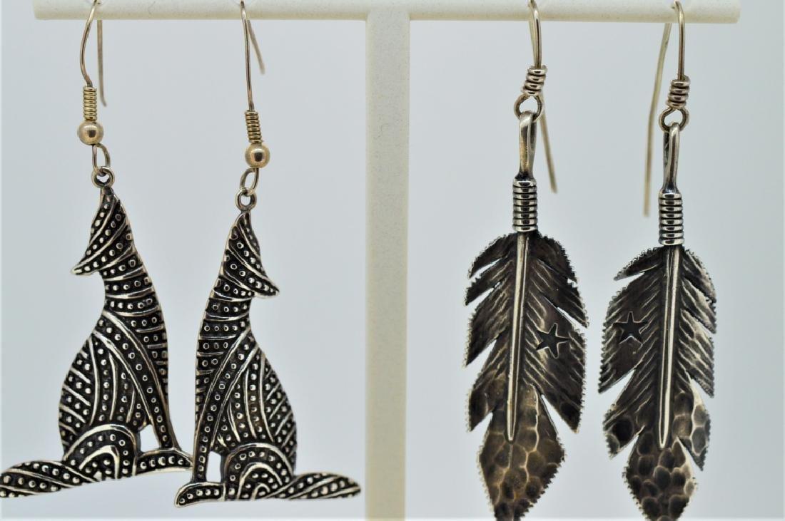 Lot of Ladies Sterling Southwestern Jewelry - 2