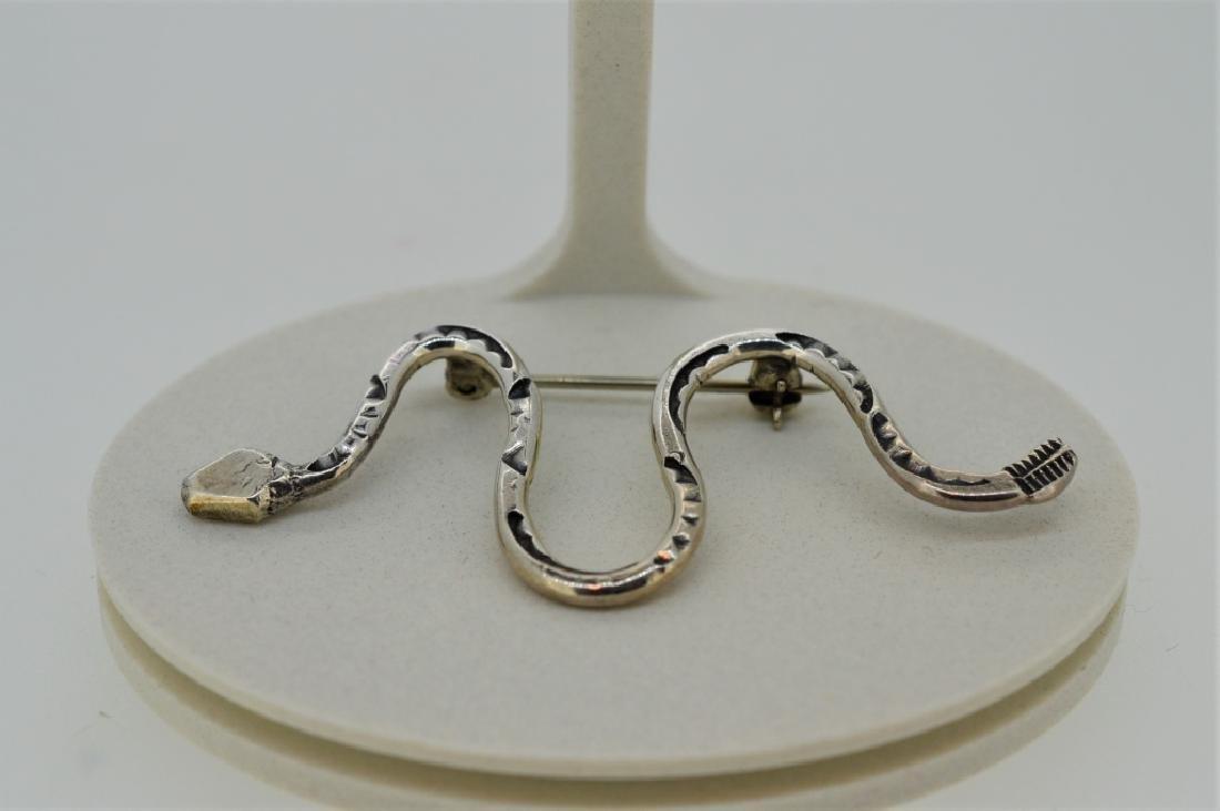 Lot of Ladies Sterling Southwestern Jewelry - 3