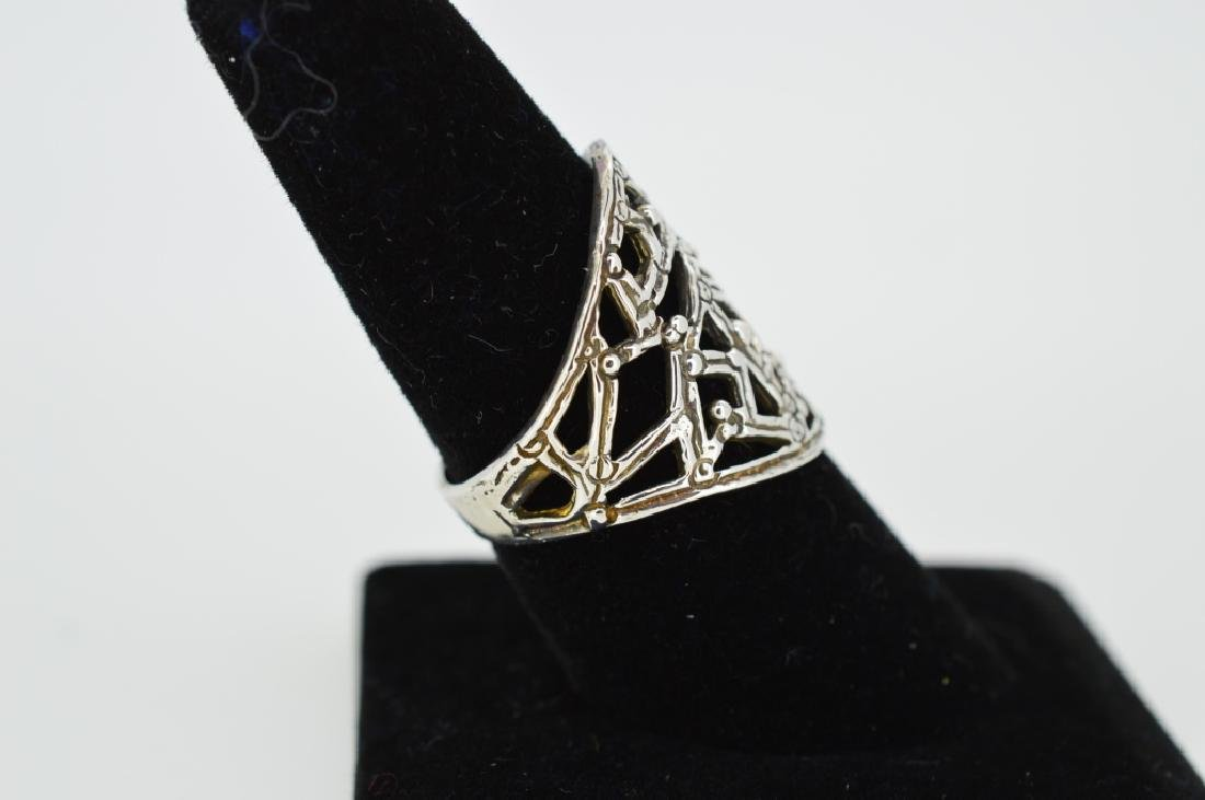 Sterling Silver Entwined Vine Ring - 2