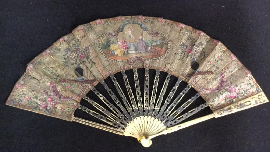 Antique Poss Louis XVI Ladies Fan