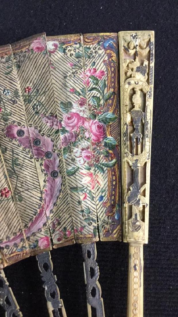 Antique Poss Louis XVI Ladies Fan - 4
