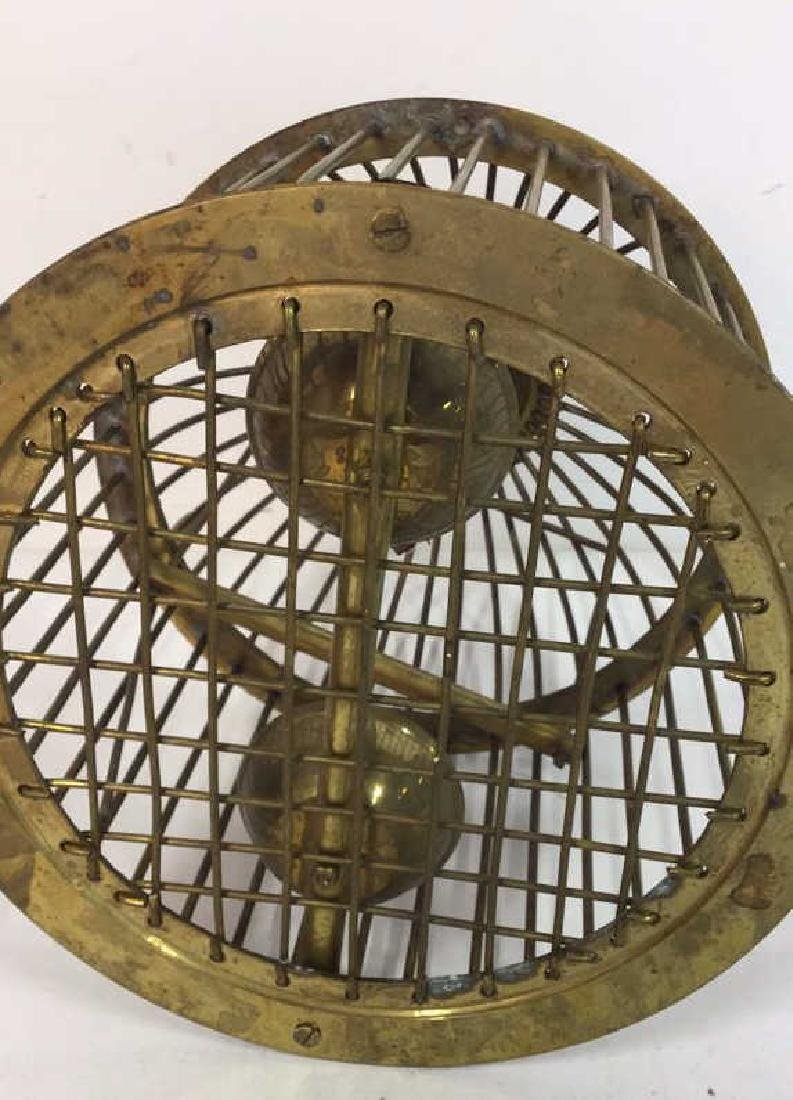 Vintage or Antique Brass Domed Bird Cage - 10