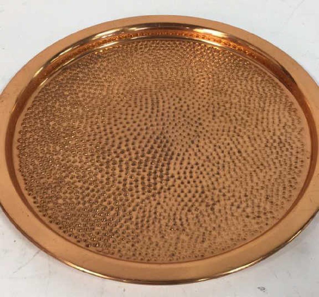 Vintage Copper Kitchen Pots Implements - 7