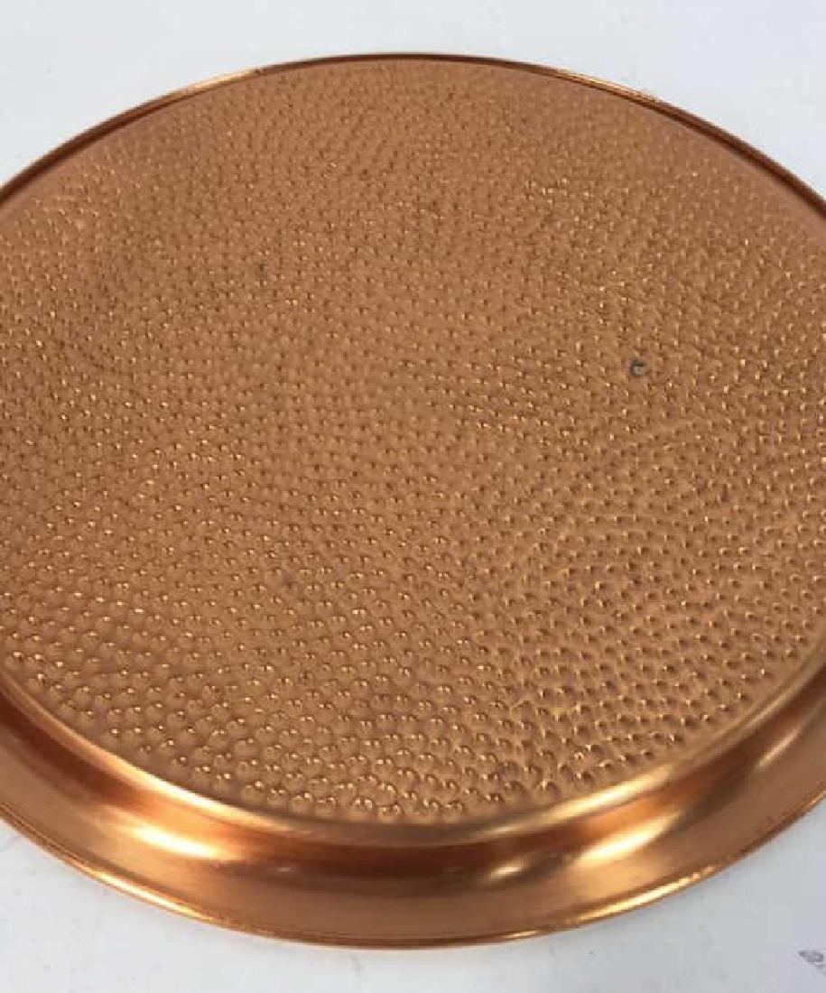Vintage Copper Kitchen Pots Implements - 8