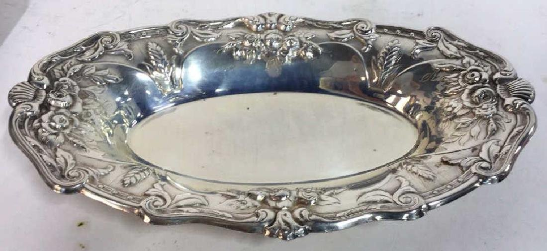4 Piece Silver Plate Polished Vintage Group - 3