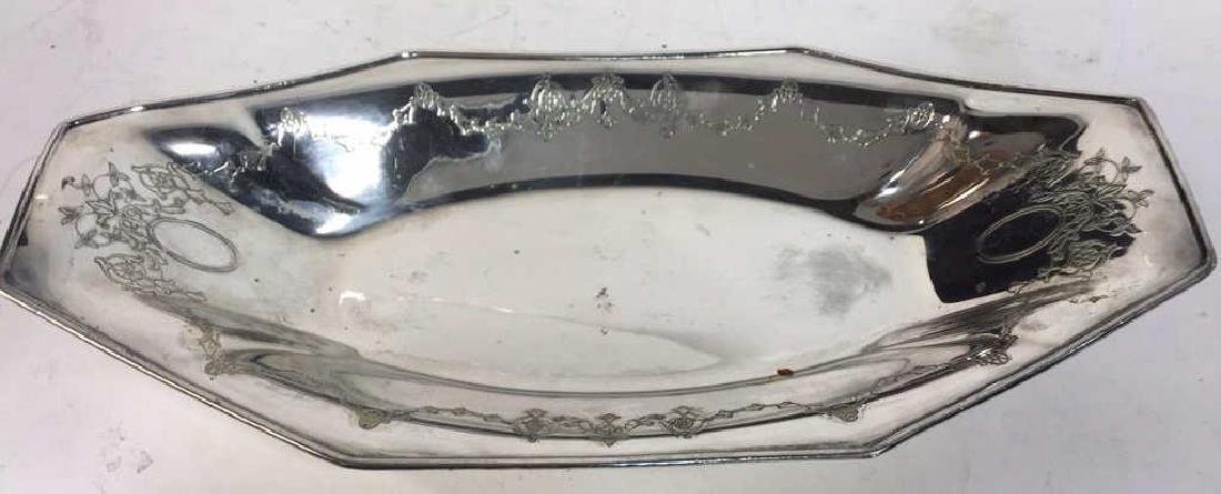 4 Piece Silver Plate Polished Vintage Group - 5