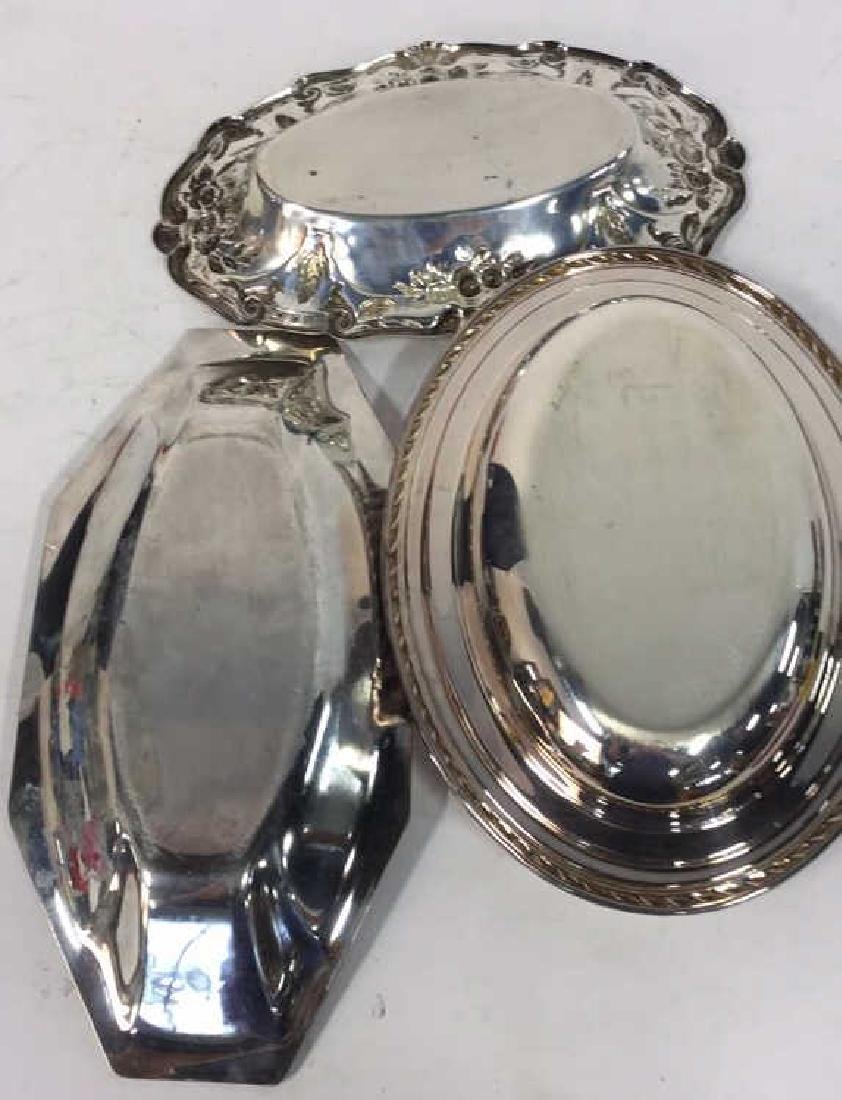 4 Piece Silver Plate Polished Vintage Group - 8