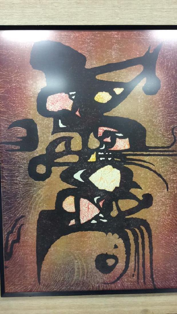 Toshi Yoshida Sosaku Hanga Modernist Woodblock - 2
