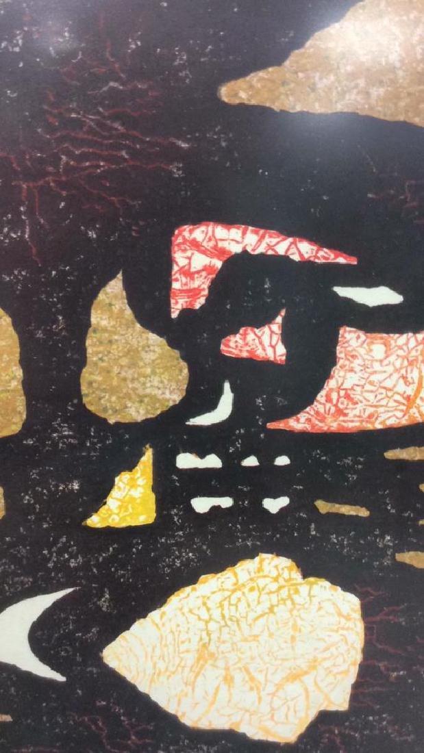 Toshi Yoshida Sosaku Hanga Modernist Woodblock - 4