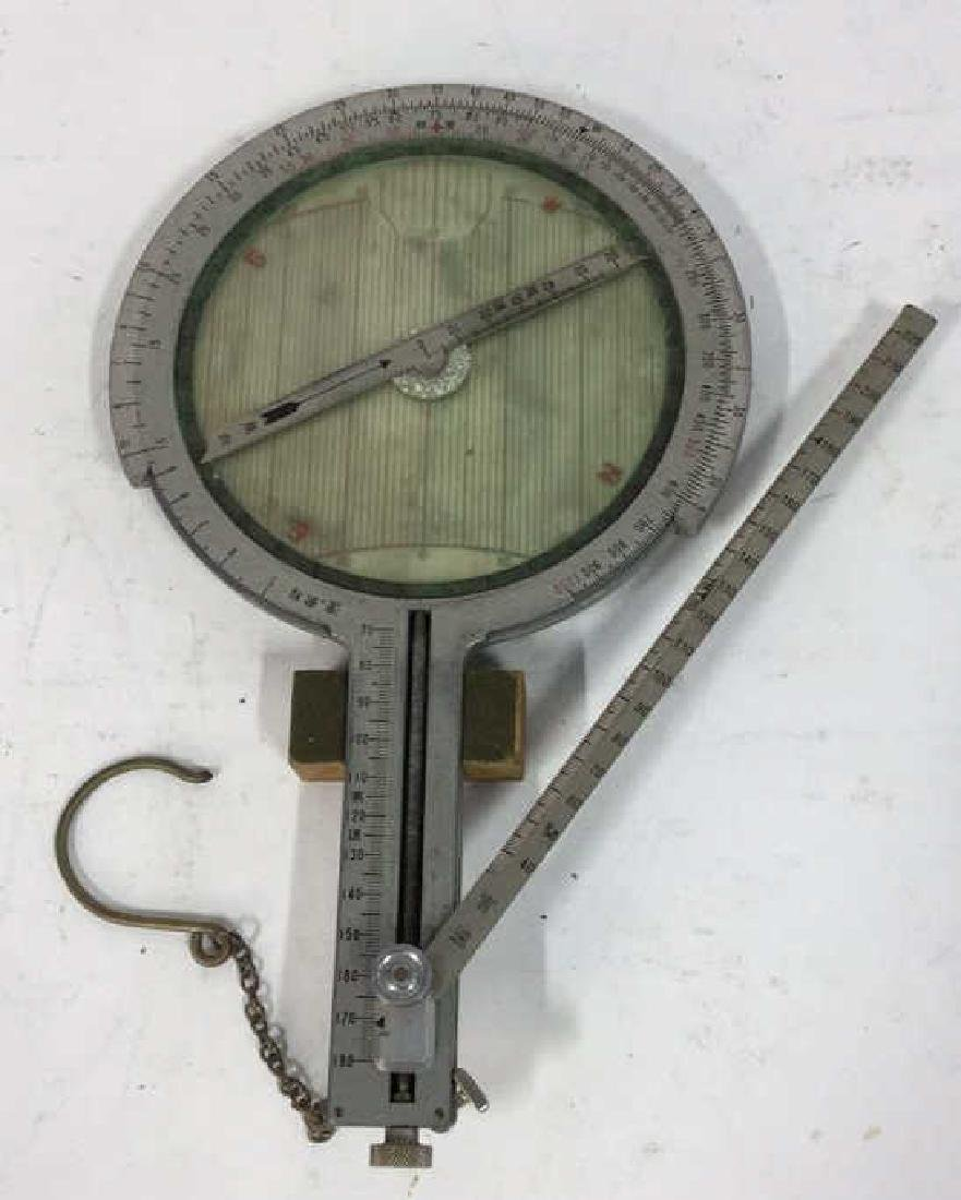 Antique Surveyors Instrument Fitted Wood Box - 4