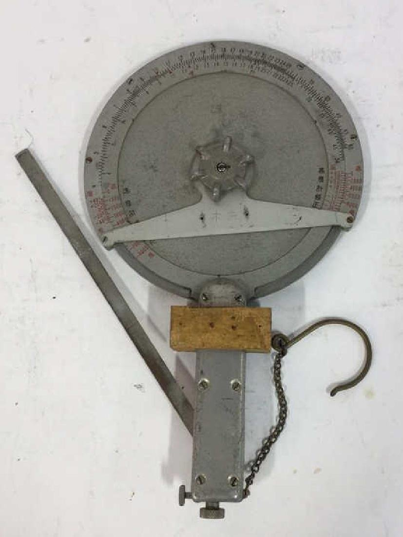 Antique Surveyors Instrument Fitted Wood Box - 5