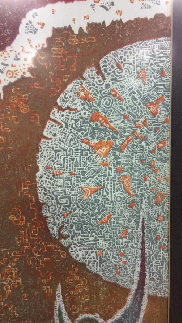 Toshi Yoshida Sosako Hanga Modernist Woodblock - 4