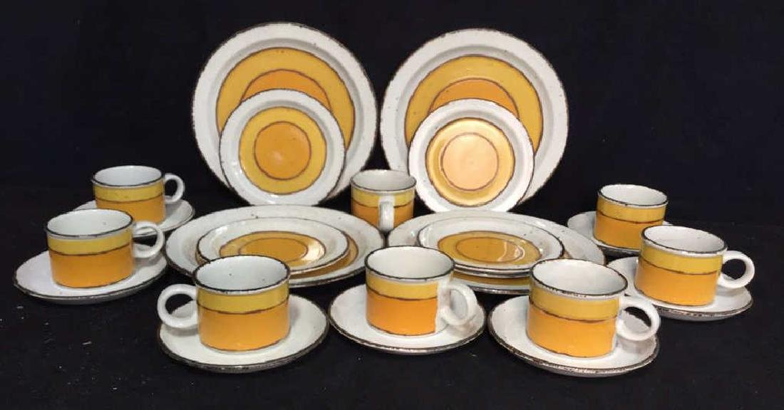 22 Pcs English Pottery Dinner Set, MIDWINTER