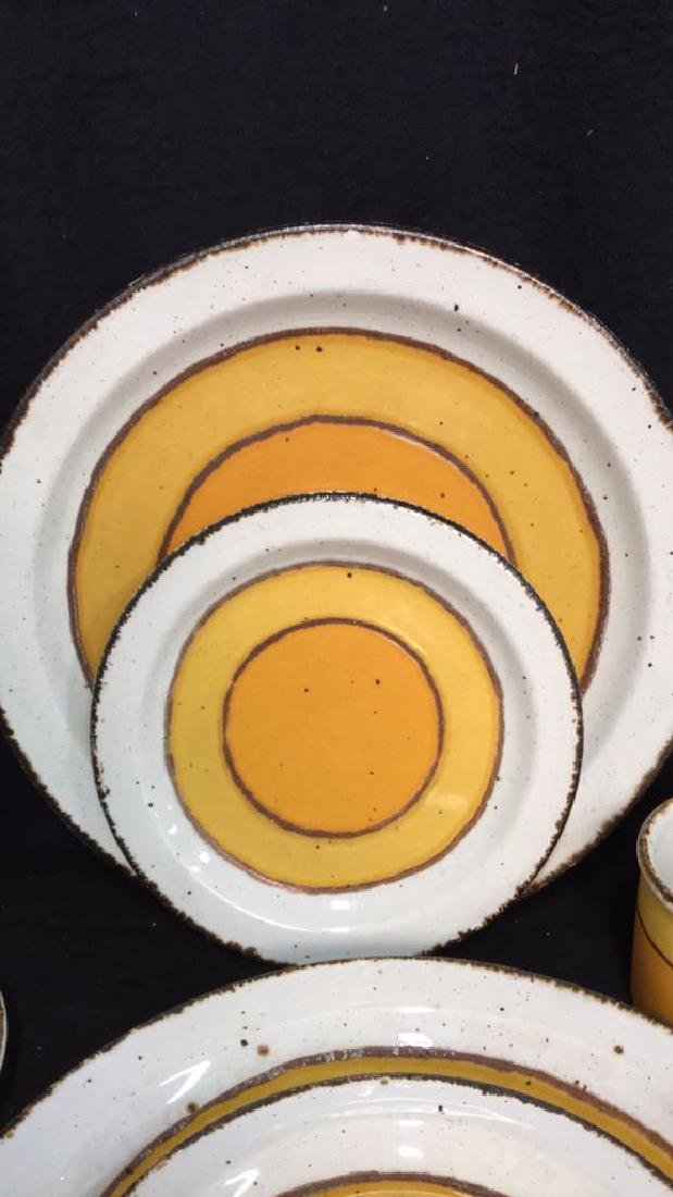 22 Pcs English Pottery Dinner Set, MIDWINTER - 2