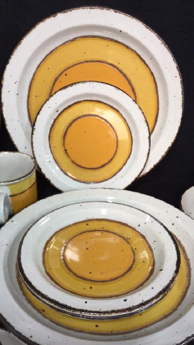 22 Pcs English Pottery Dinner Set, MIDWINTER - 3