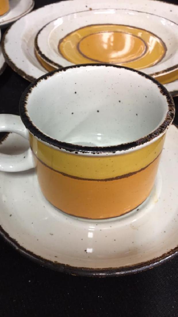 22 Pcs English Pottery Dinner Set, MIDWINTER - 5