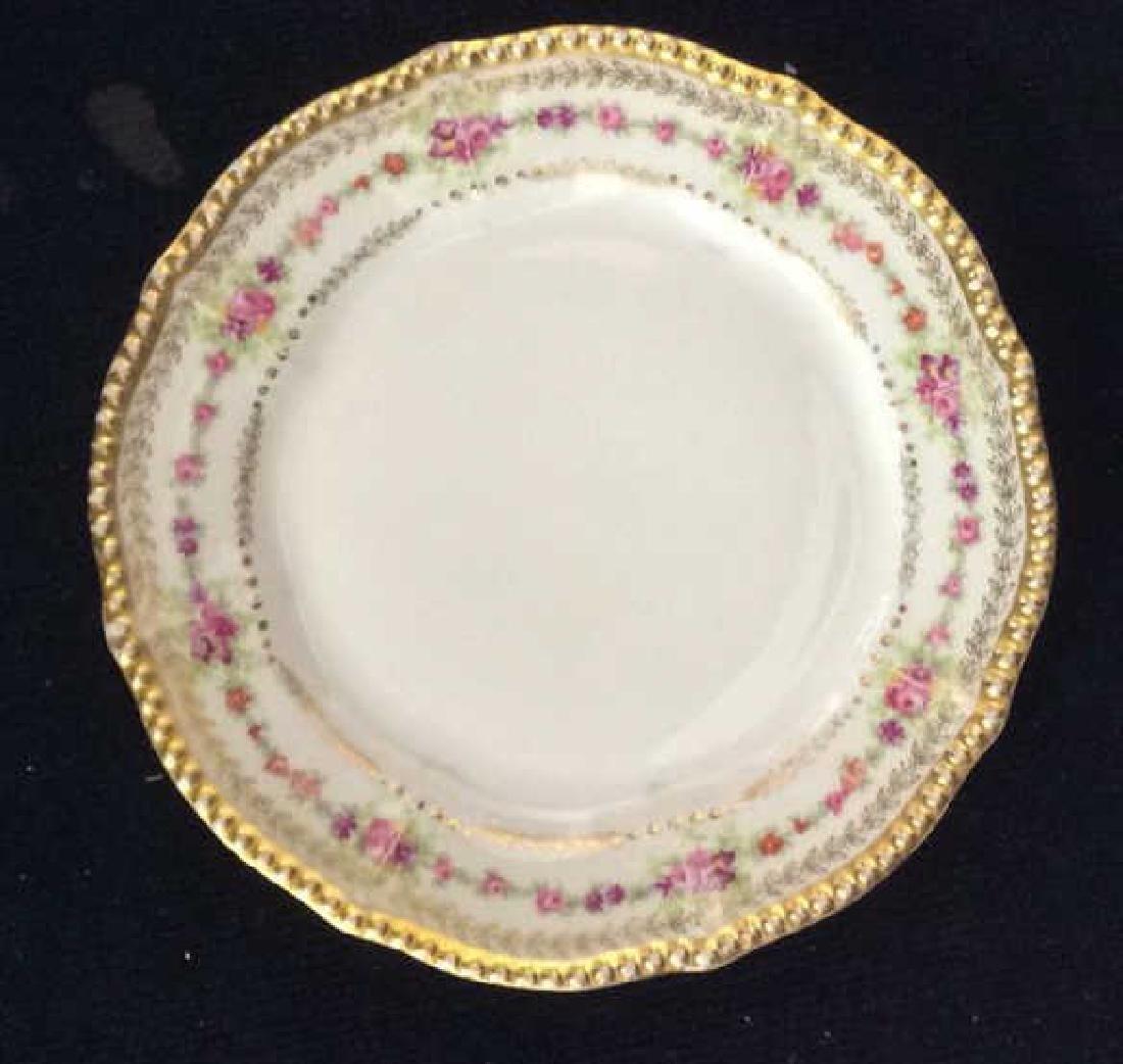 3 Sets Limoges French  Porcelain  Plates - 3