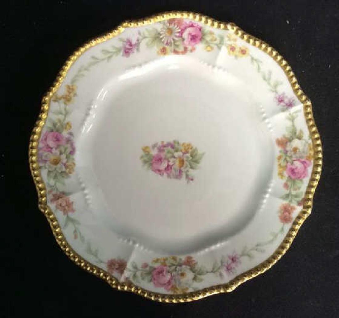 3 Sets Limoges French  Porcelain  Plates - 7