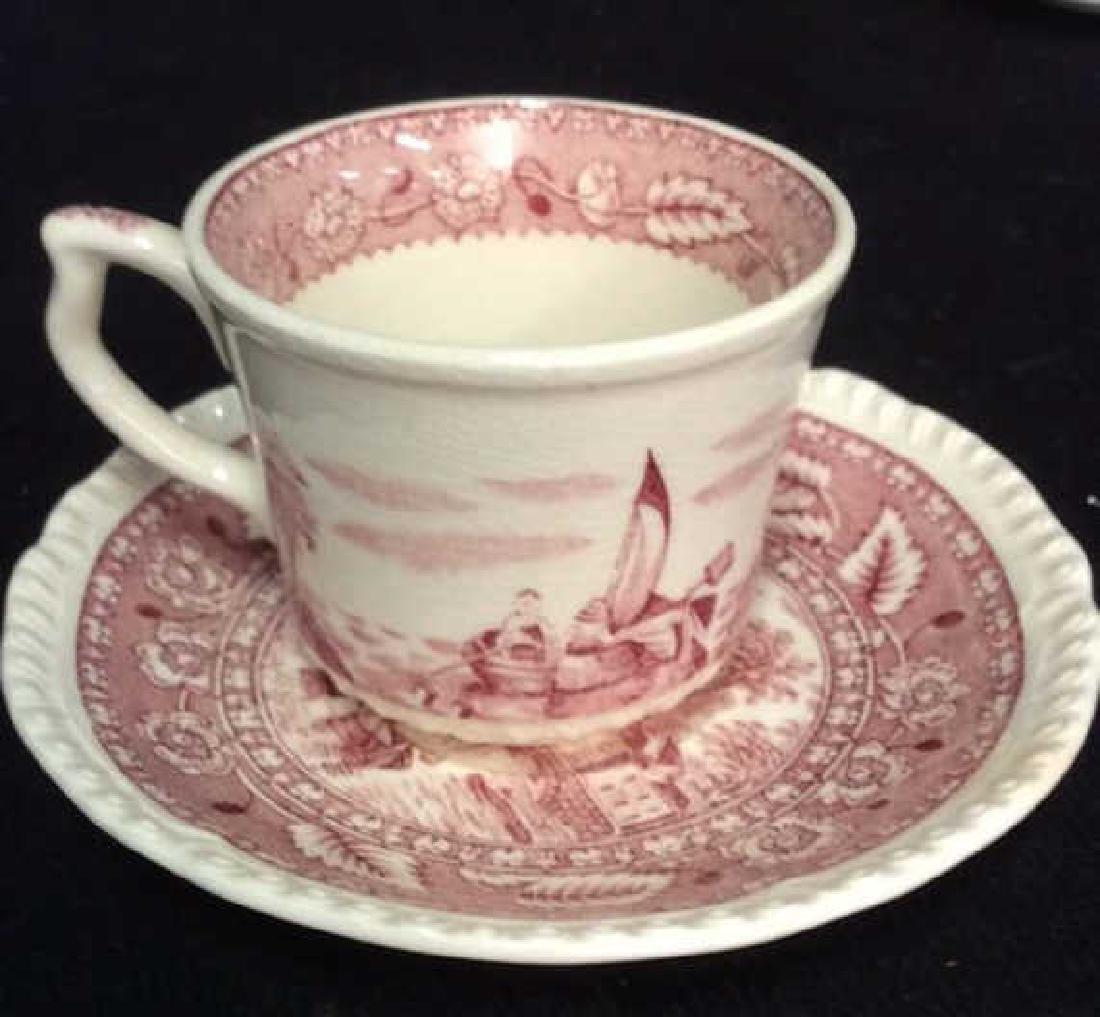 Group Lot Antique Vintage Floral Porcelain Smalls - 5