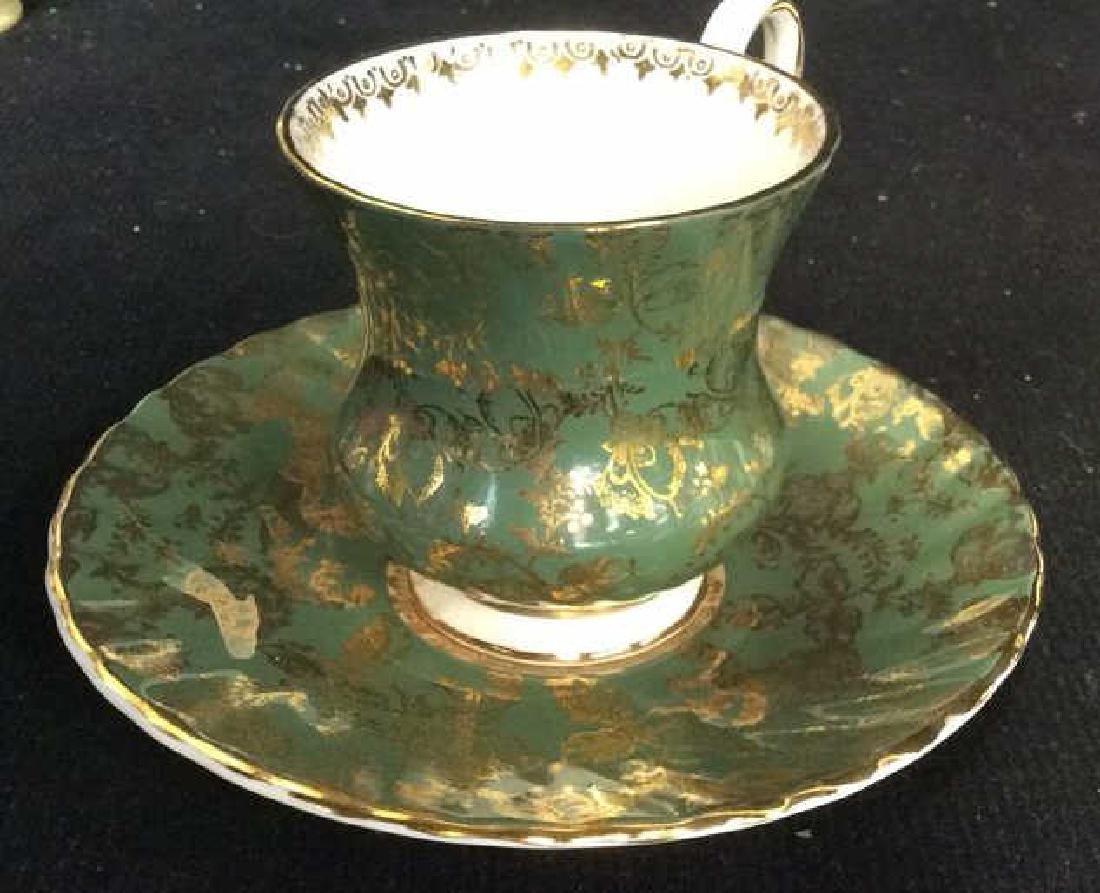 Group Lot Antique Vintage Floral Porcelain Smalls - 9