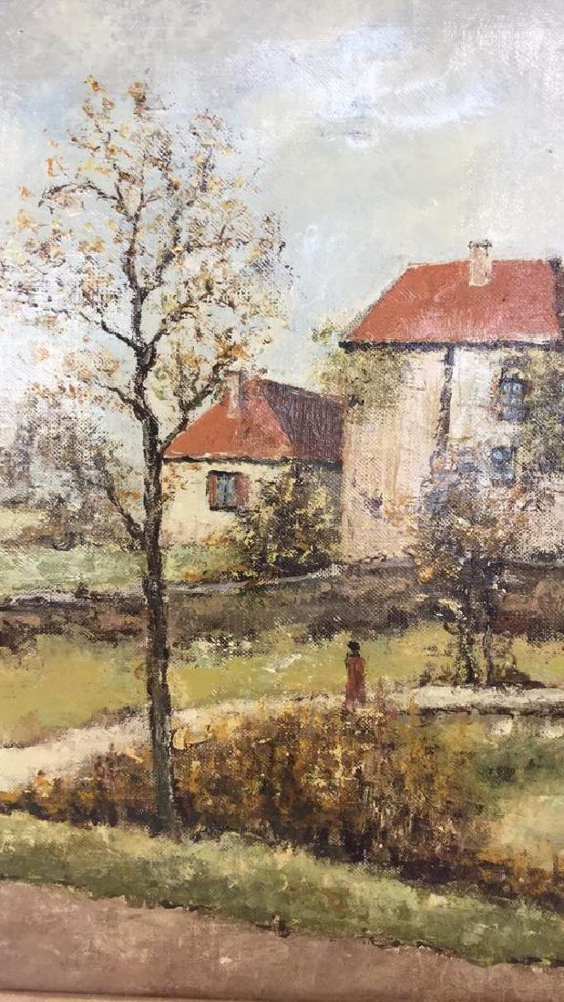 LOUIS PEYRAT Oil On Canvas Painting - 2