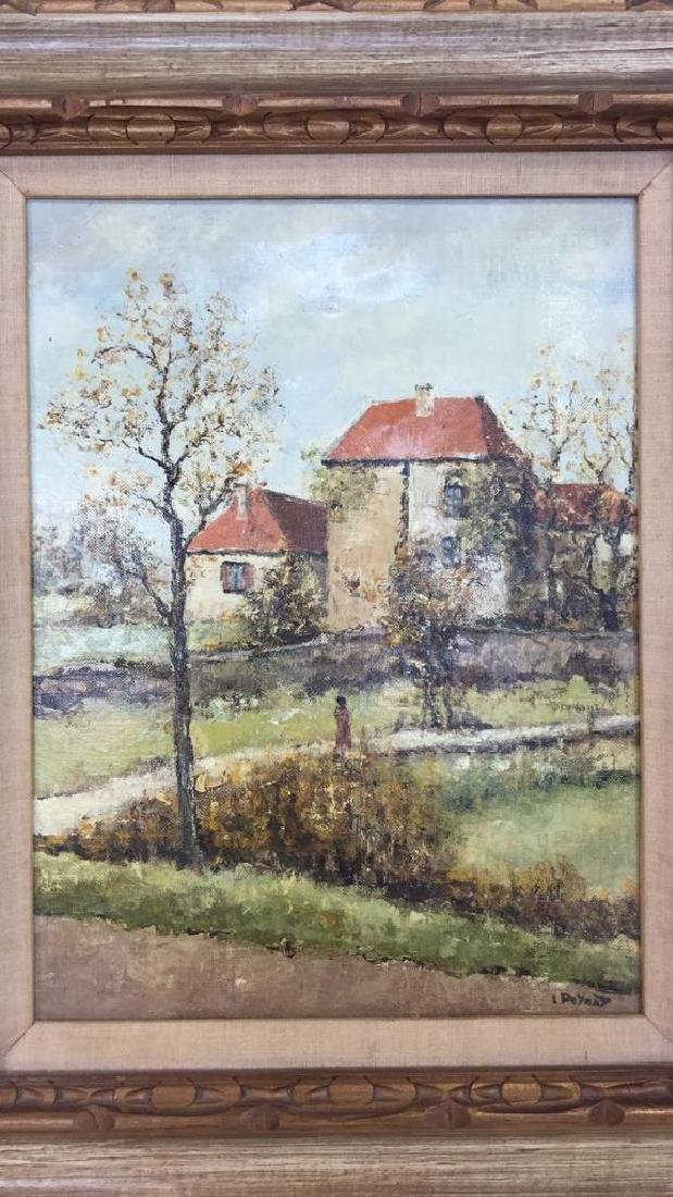 LOUIS PEYRAT Oil On Canvas Painting - 3