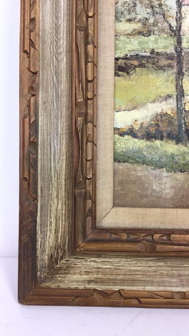 LOUIS PEYRAT Oil On Canvas Painting - 5