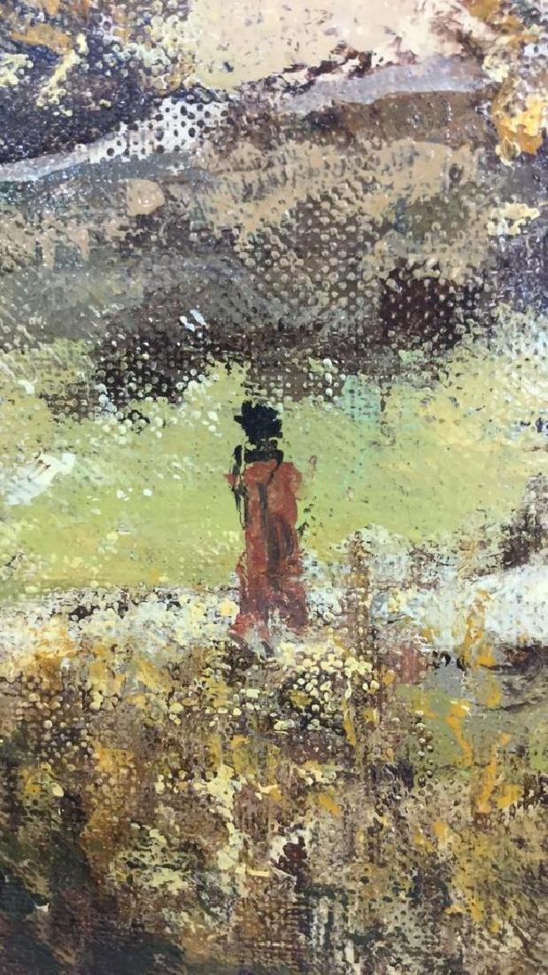 LOUIS PEYRAT Oil On Canvas Painting - 6