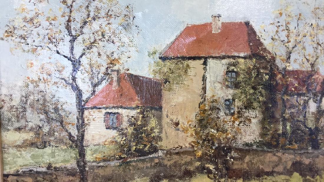LOUIS PEYRAT Oil On Canvas Painting - 7
