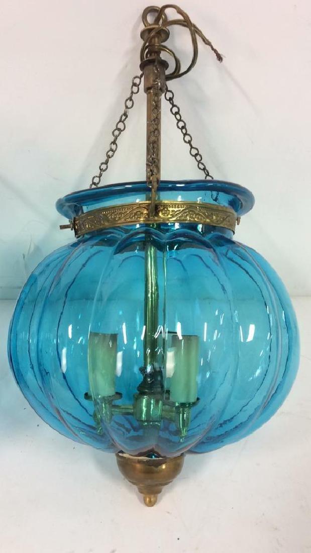 Pair Mid Century Italian Swag Lamps C. 1960's - 2